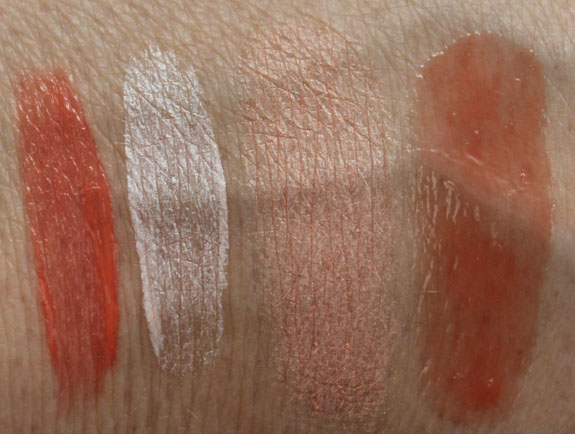 Benefit Go Tropicoral Swatches
