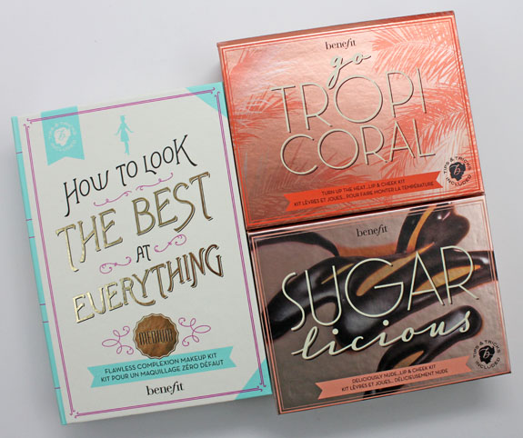 Benefit Lip  Cheek and Complexion Kits
