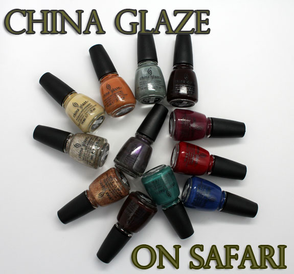 China Glaze On Safari China Glaze On Safari Collection for Fall 2012 Swatches & Review