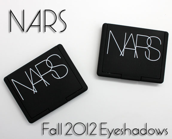 NARS Fall 2012 Eyeshadows