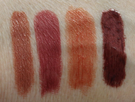 NARS Fall 2012 Lips Swatches