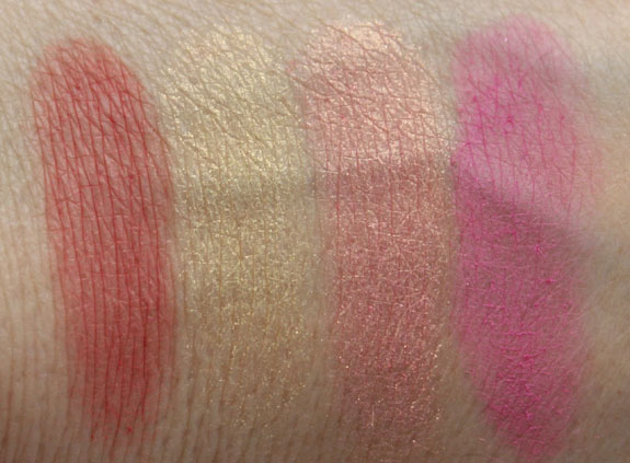 NARS Foreplay Palette Swatches