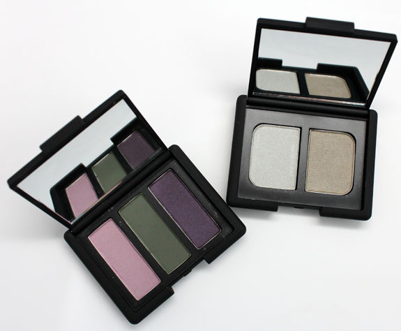 NARS High Society and Vent Glace Eyeshadows