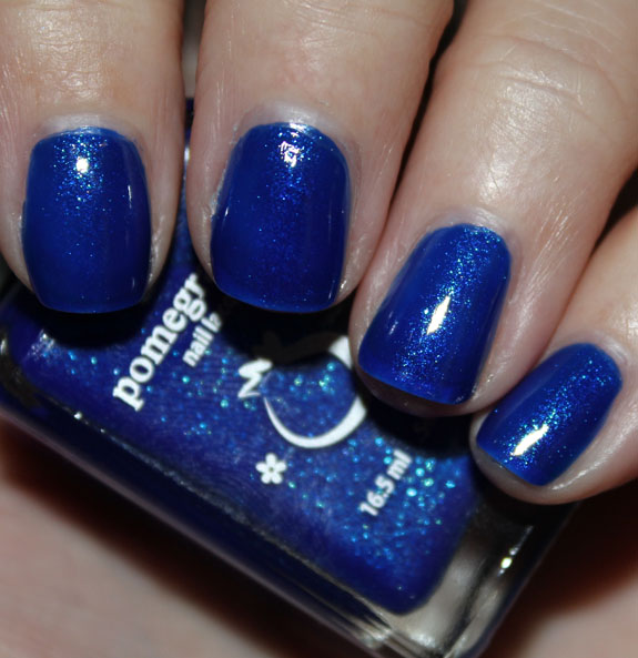 Pomegranate Nail Lacquer Blue Screen Of Death