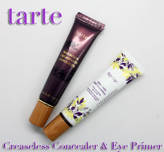 Tarte Creaseless Concealer and 12 Hour Eye Primer Tarte Maracuja Creaseless Concealer and Clean Slate 360 Creaseless 12 hr Smoothing Eye Primer Review