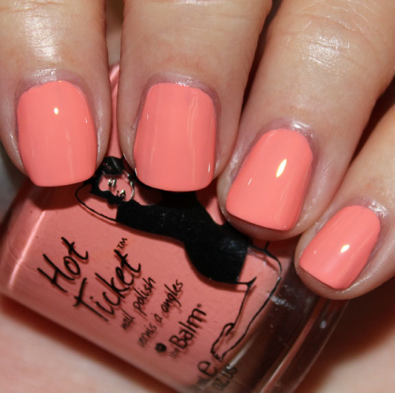 TheBalm Hot Ticket Nail Polish Swatches & Review