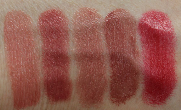 Too Faced La Creme Lipstick Swatches 2