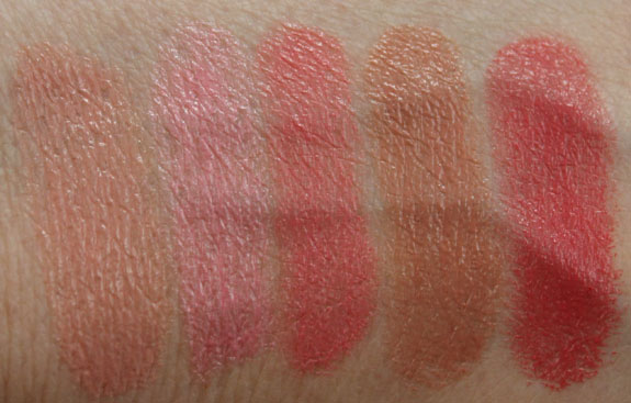 Too Faced La Creme Lipstick Swatches