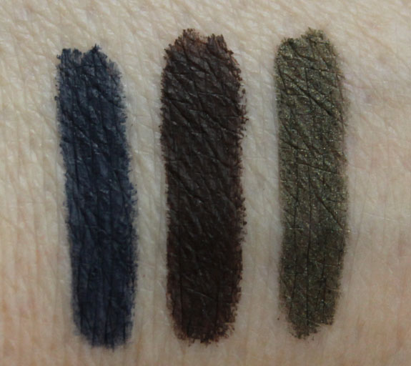 Too Faced Perfect Eyes Waterproof Eyeliner Swatches
