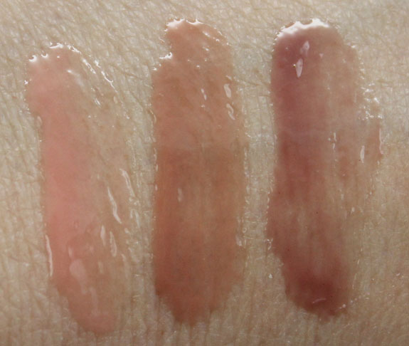 Urban Decay Naked Lip Junkie Lip Gloss Swatches