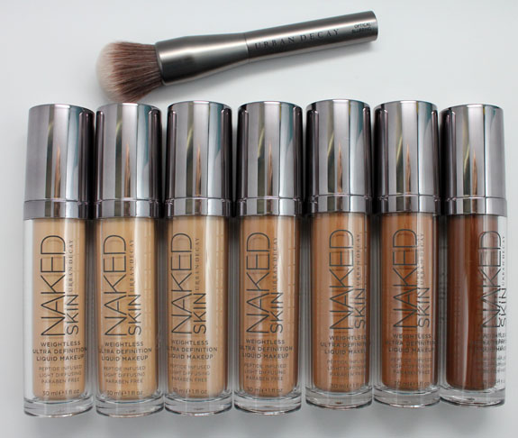 Urban Decay Naked Skin 2 Urban Decay Naked Skin for Fall 2012 Swatches, Photos & Review