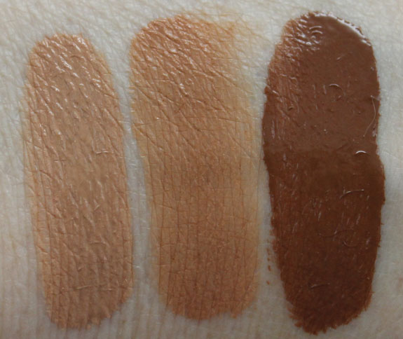 Urban Decay Naked Skin Swatches 2 Urban Decay Naked Skin for Fall 2012 Swatches, Photos & Review