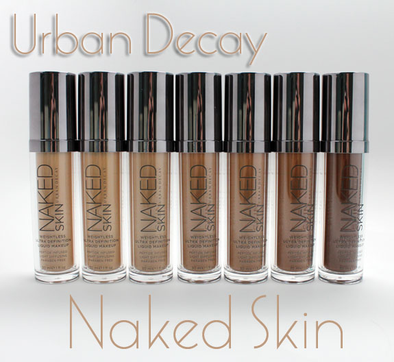 Urban Decay Naked Skin Urban Decay Naked Skin for Fall 2012 Swatches, Photos & Review