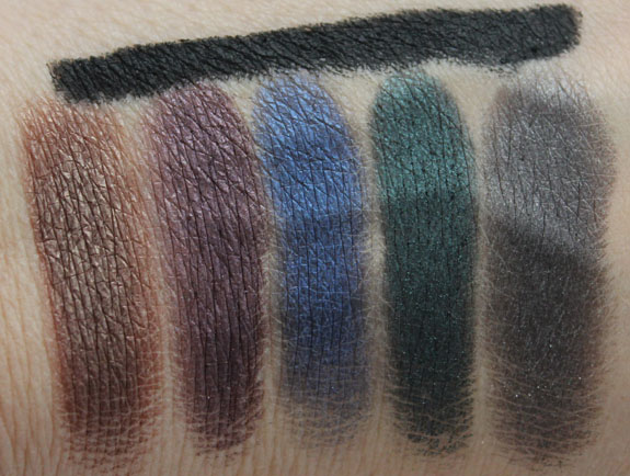 Urban Decay Smoked Eyeshadow Palette Swatches 2