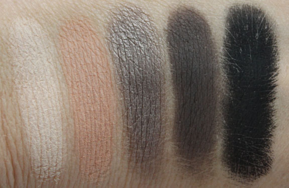 Urban Decay Smoked Eyeshadow Palette Swatches