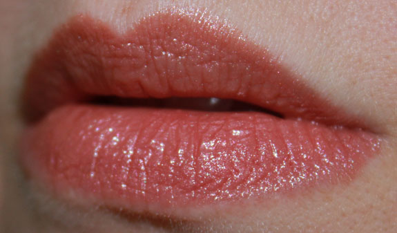 Urban Decay Super Saturated High Gloss Lip Color in Naked on Lips