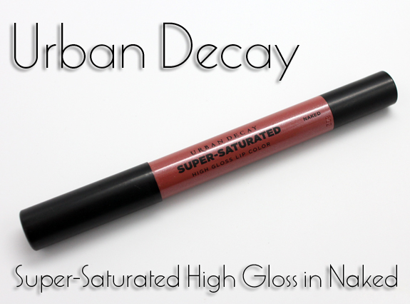Urban Decay Super Saturated High Gloss Lip Color in Naked