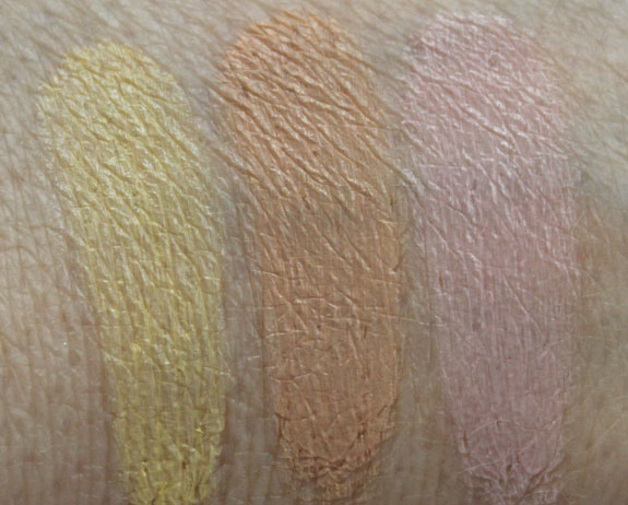 Benefit Perk Up Artist Swatches