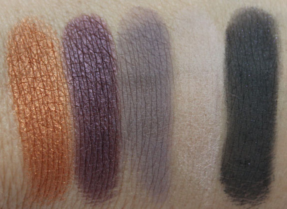 Buxom Color Choreography Eyeshadow Belly Dance Swatches