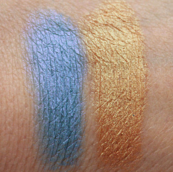 Kat Von D Shade Shifter Eyeshadow Swatches Wet Kat Von D Shade Shifter Eyeshadows Swatches & Review