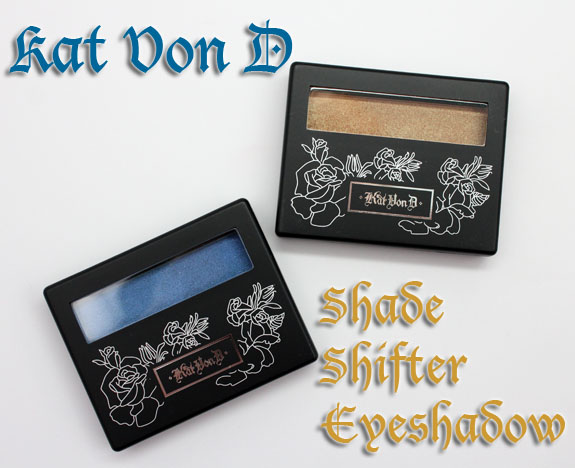 Kat Von D Shade Shifter Eyeshadow Kat Von D Shade Shifter Eyeshadows Swatches & Review
