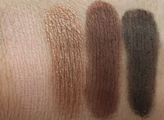 Laura Mercier Colour to Go Palette Swatches