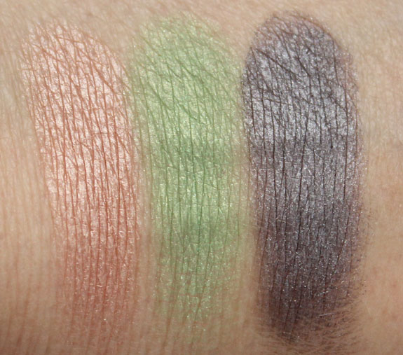 MAC By Request Eyeshadow Swatches