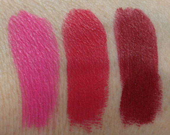 MAC By Request Lipstick Swatches