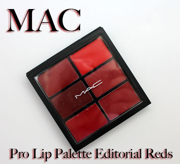 MAC Pro Lip Palette Editorial Reds