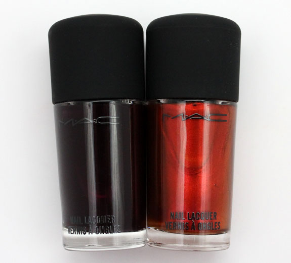 MAC Styleseeker and Gadabout Girl Nail Lacquer