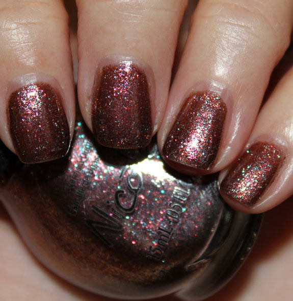 Nicole by OPI Just Busta Muave