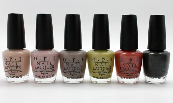 OPI Germany 2 OPI Germany for Fall 2012 Swatches, Photos & Review