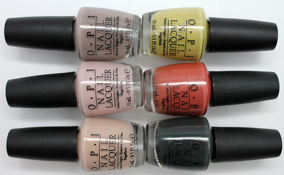 OPI Germany 3 OPI Germany for Fall 2012 Swatches, Photos & Review