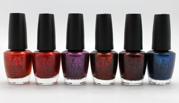 OPI Germany 4 OPI Germany for Fall 2012 Swatches, Photos & Review