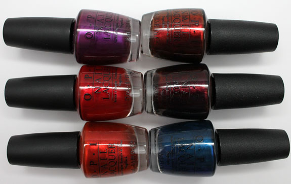 OPI Germany 5 OPI Germany for Fall 2012 Swatches, Photos & Review