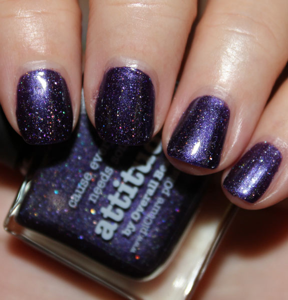 Picture Polish Attitude Swatch Picture Polish Attitude Swatches, Photos & Review