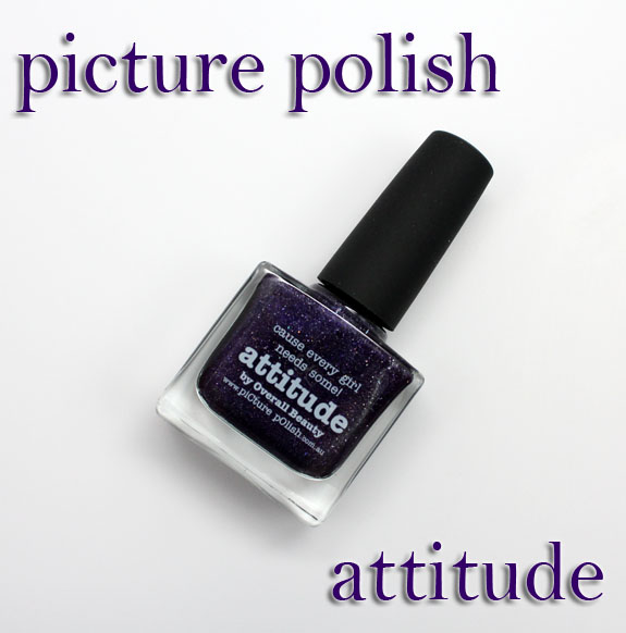 Picture Polish Attitude Picture Polish Attitude Swatches, Photos & Review