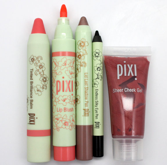 Pixi 2 Pixi by Petra Lip, Lid and Cheek Swatches, Photos & Review