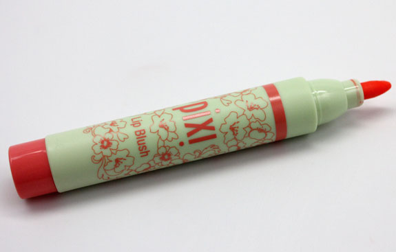 Pixi Lip Blush in Energy Pixi by Petra Lip, Lid and Cheek Swatches, Photos & Review