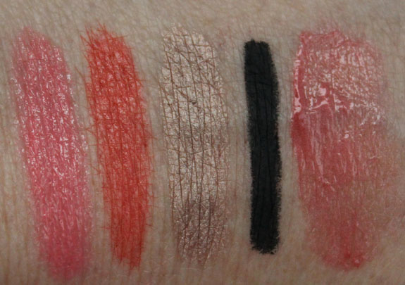 Pixi Swatches Pixi by Petra Lip, Lid and Cheek Swatches, Photos & Review