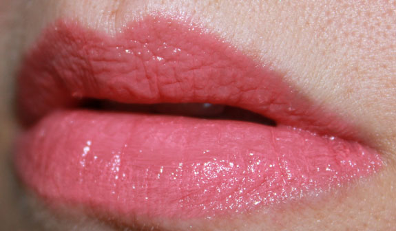 Pixi Tinted Brilliance Balm Craving Coral Swatch