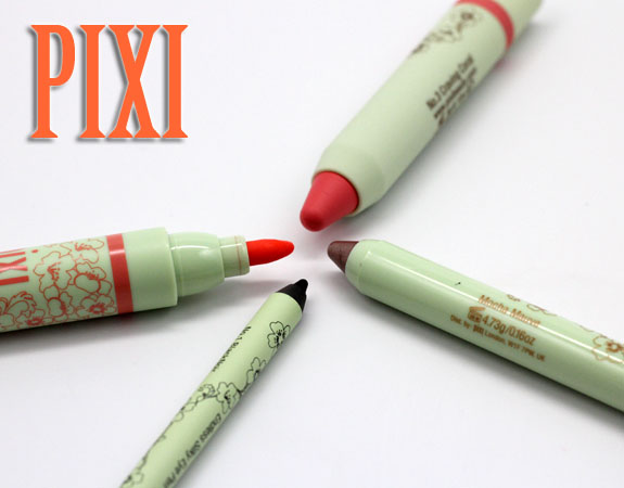 Pixi Pixi by Petra Lip, Lid and Cheek Swatches, Photos & Review
