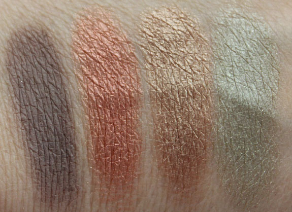 Prestige Vanity Flair Eyeshadow Kit Swatches 2
