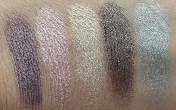 Prestige Vanity Flair Eyeshadow Kit Swatches