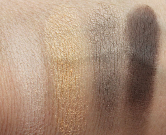 Tarte Just Deserts Amazonian Clay Eyeshadow Quad Swatches