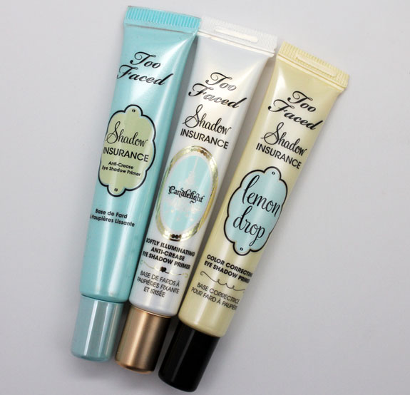 Too Faced Anti Crease Eye Shadow Primers 3 Too Faced Anti Crease Eye Shadow Primers Swatches & Review
