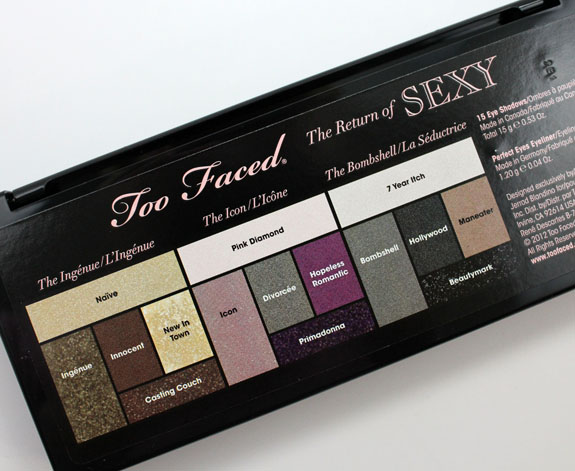 Too Faced The Return of Sexy 3
