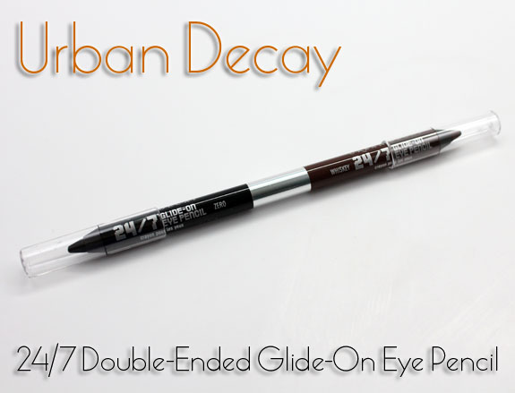 Urban Decay 24 7 Double Ended Glide On Eye Pencil Urban Decay 24/7 Double Ended Glide On Eye Pencil for Holiday 2012 Swatches & Photos