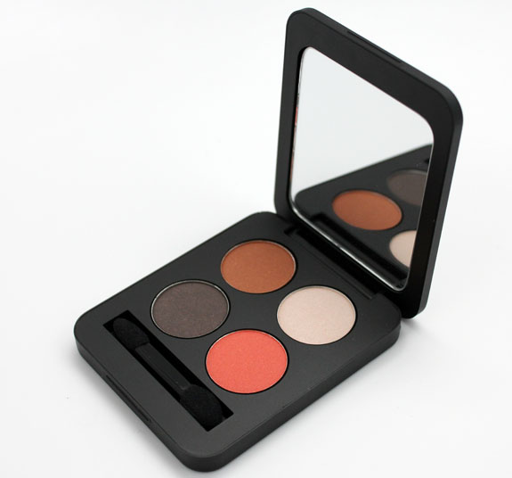 Youngblood Pressed Mineral Eyeshadow Quad Moulin Rouge 2