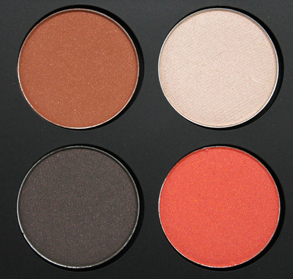 Youngblood Pressed Mineral Eyeshadow Quad Moulin Rouge 3